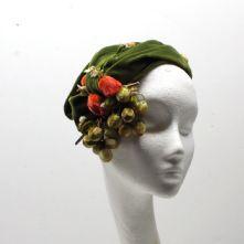 'Marg' Velvet Vintage Half Hat Tutorial Kit